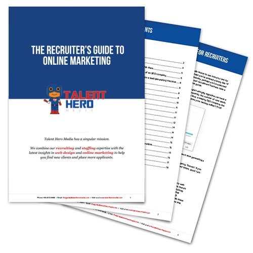 Recruiter's Guide to Online Marketing Preview Image