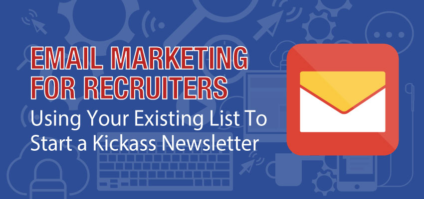 Email Marketing For Recruiters Banner