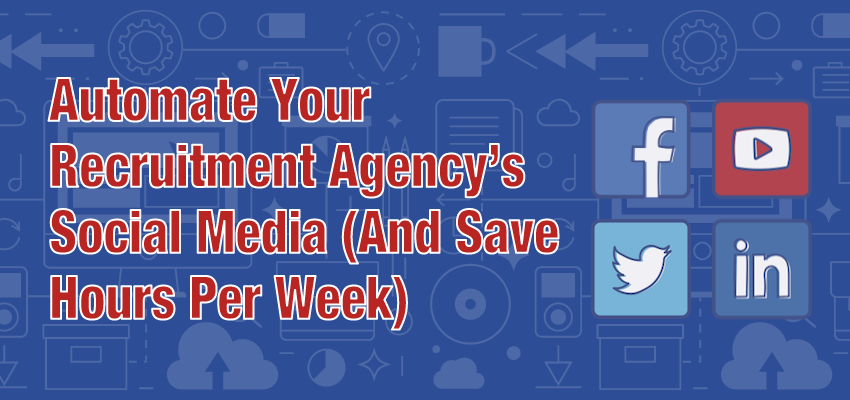 Automate Your Recruitment Social Media Banner