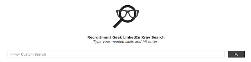 LinkedIn X-ray Search Tool