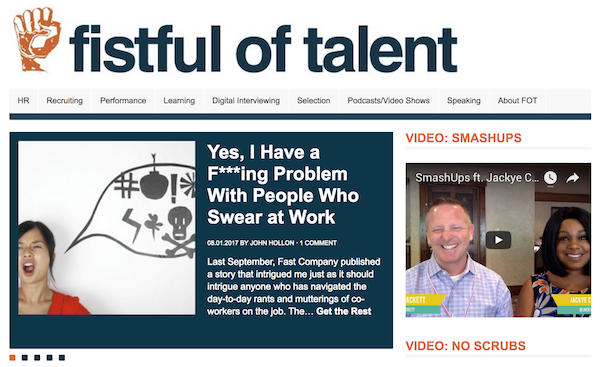 Recruitment Blogs - Fistful of Talent