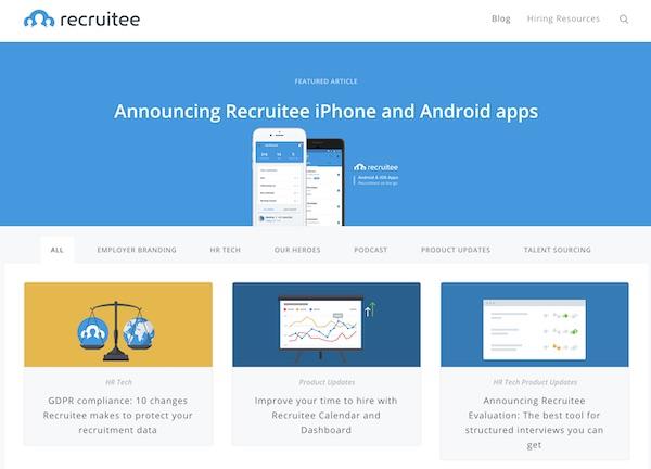 Recruitment Blogs - Recruitee