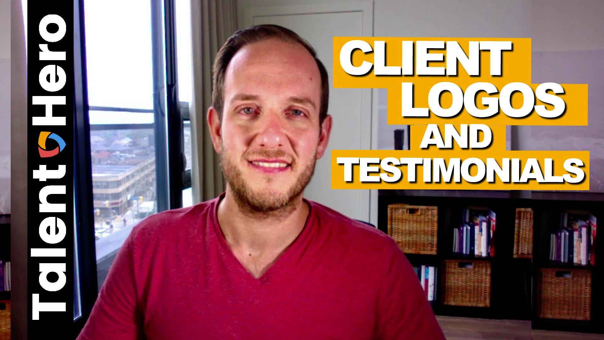 Client Logos and Testimonials Thumbnail