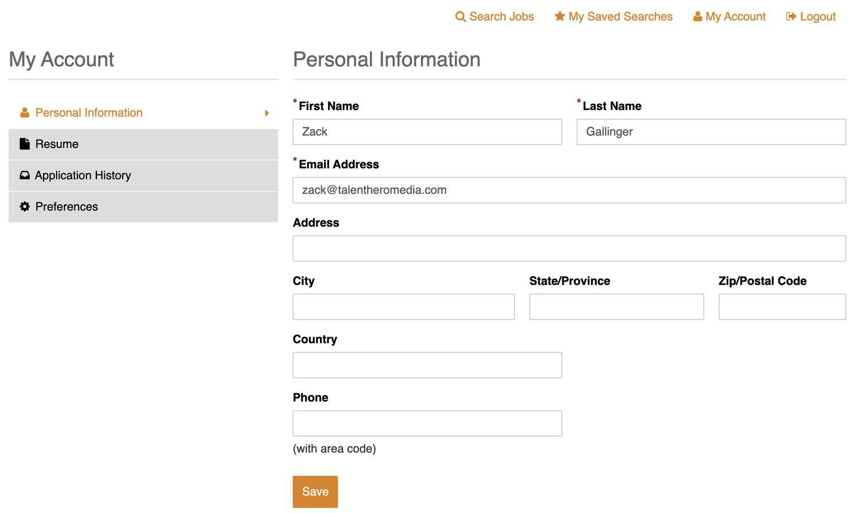020 candidate portal